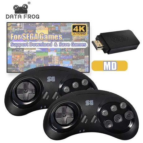 Игровая приставка Data Frog  Y2 SG HDMI 1176 игр Sega Dendy Сега Денди