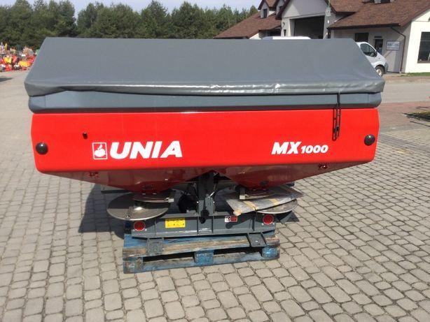 Rozsiewacz nawozu dwutarczowy MX 1000 - Unia Group