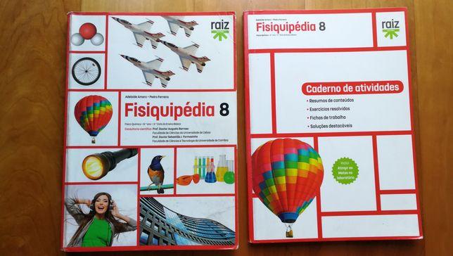 Fisiquipédia 8 Manual + Caderno