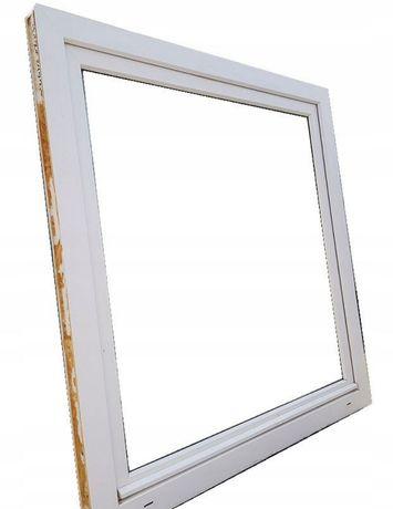 Okna plastikowe 130x116 białe, 2 sztuki