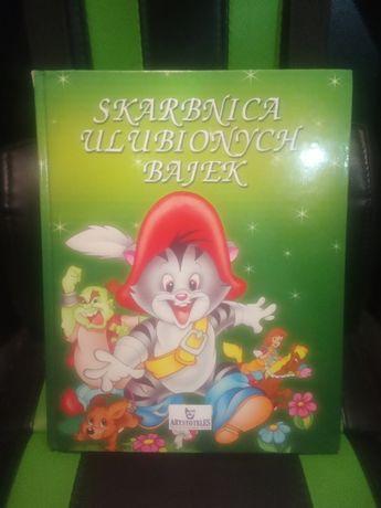 Książka skarbnica ulubionych bajek Mnóstwo obrazków Same hity Bajki