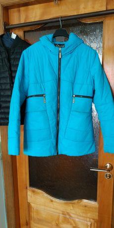 Синяя курточка весна осенняя осень Куртка демисезонная беремменых