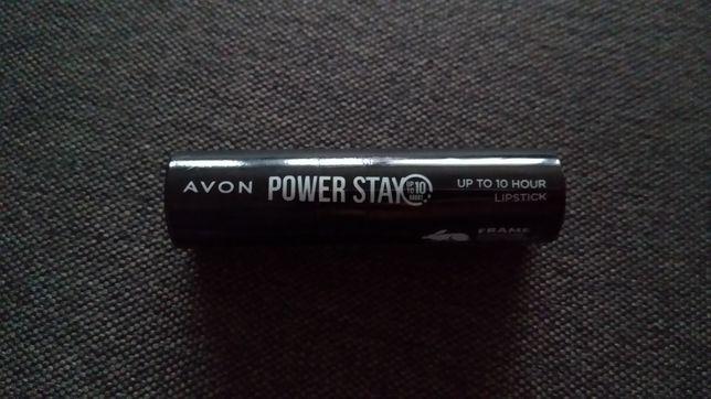 Szminka Avon Power Stay kolor Long Run Rose