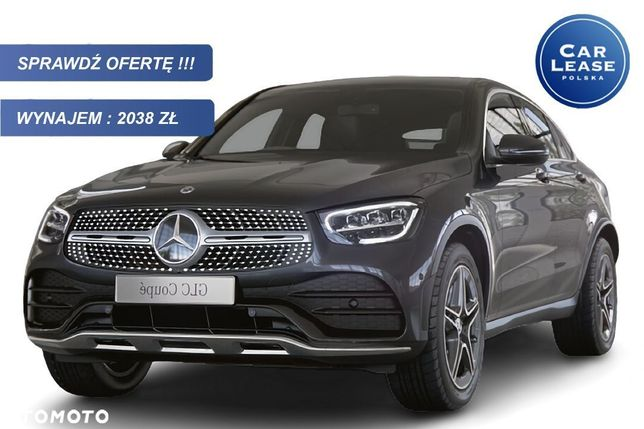 Mercedes-Benz GLC 4MATIC Coupe AMG zewnątrz/Exclusive