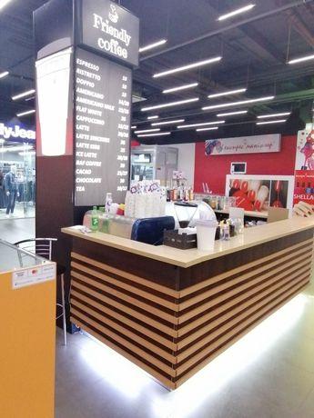 Кофейный островок в торговом центре