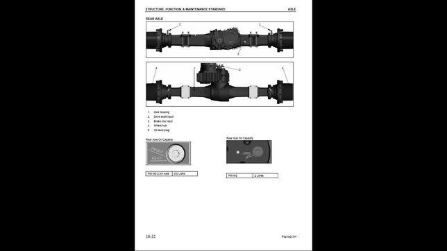 Komatsu pw 170 es -6k instrukcja napraw