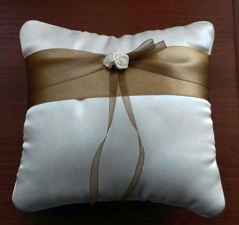 Poduszka poduszeczka na obrączki ślub