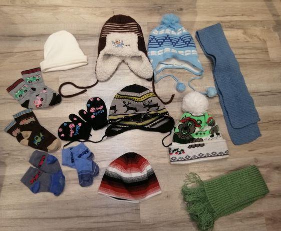 Шапки, шарфы, носки, варежки