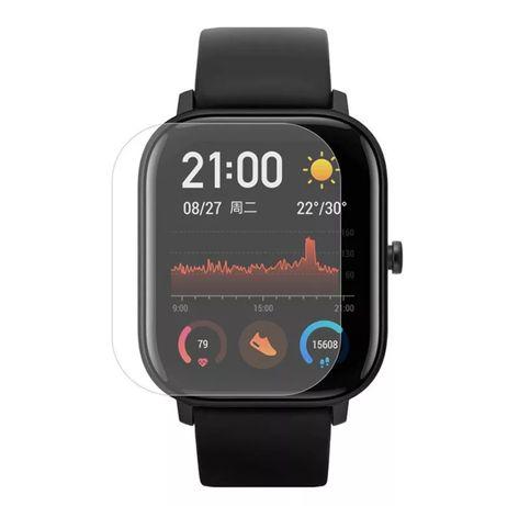 Smartwatch Amazfit GTS, Apple watch 3, 4 folia ochronna szkło ekran