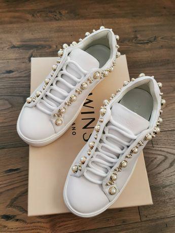 Nowe, białe sneakersy TWINSET