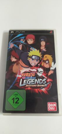 PSP gra Naruto Legends Akatsuki Rising