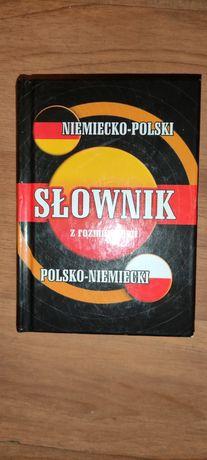 Slownik polsko - niemiecki z rozmówkami