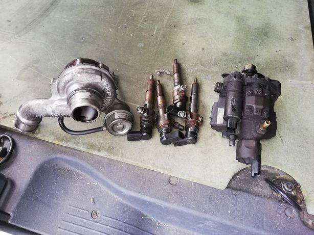Bomba + injectores + turbo Ford