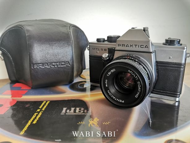 Camêra de Fotos Vintage Analógica 35mm Praktica MTL 5B