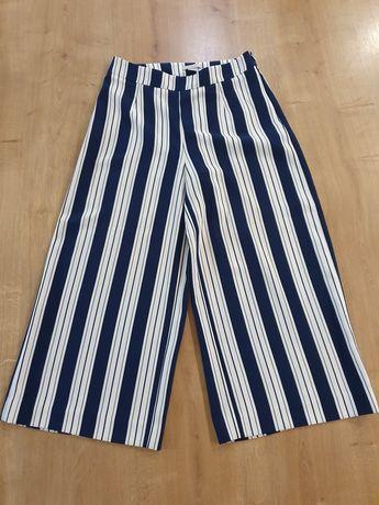 Spodnie culotte H&M r. S