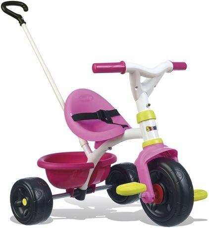 Smoby Push Along Trike z uchwytem dla rodziców