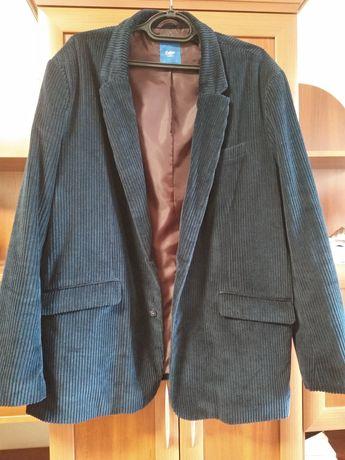 Мужской пиджак,вельвет,на 56-58р,новый