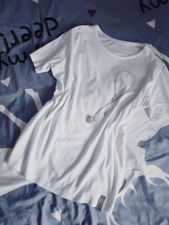 Biała bluzka XL 42