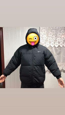 Пуховик Nike не парка reebok adidas tnf винтажный