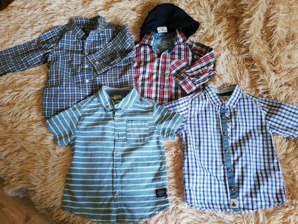 Рубашка next hm f f zara