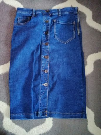 Stradivarius spódnica jeansowa 38
