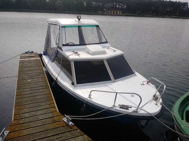 Łódź motorowa, jacht, motorówka ŚLESIN łódka rodzinna 50KM