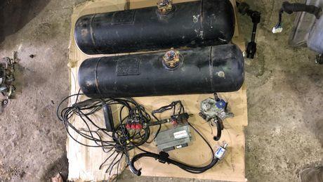 Газовая установка 4 поколение ГБО комплект 6 цилиндров балон редуктор