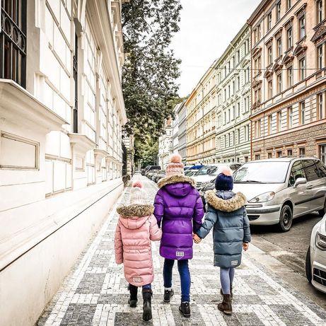 Зимний пуховик пальто для девочки LEGO Wear р.104-110 Lenne Reima