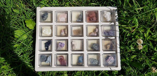 Kolekcja kamieni szlachetnych
