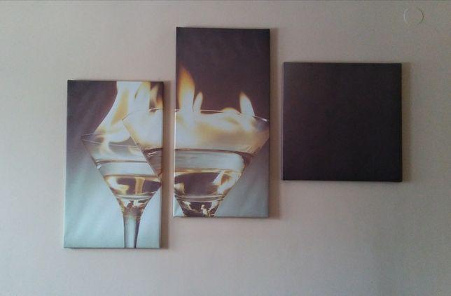 Obraz tryptyk salon kuchnia