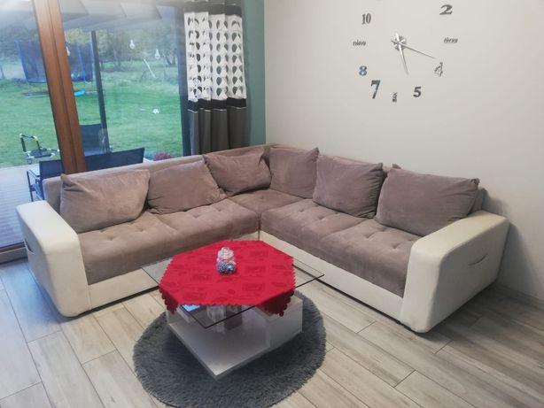 Rezerwacja - Narożnik sofa rogówka  za darmo