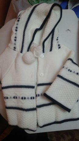 Sweter do chrztu 74