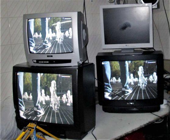 televisões e outros equipamentos