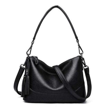 Женская кожаная мягкая сумка