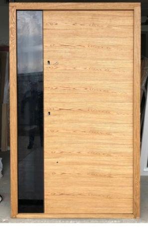 Drzwi zewnętrzne drewniane gwarancja producenta dowóz gratis zadzwoń