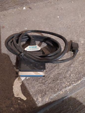 Części elektroniczne, kable, czujki, dekoder, adapery, wyświetlacz
