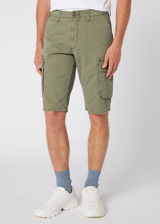 Новые оригинальные шорты карго Wrangler Вранглер джинсы бриджи 33 34