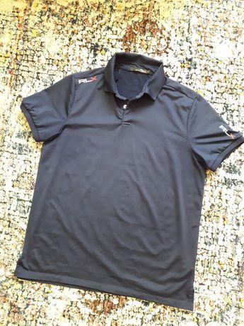 RALPH LAUREN, męska sportowa koszulka polo r.L, nowa