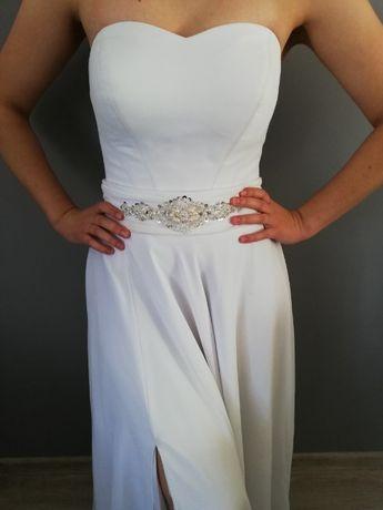 Suknia Ślubna top+pasek Gala model Pamela