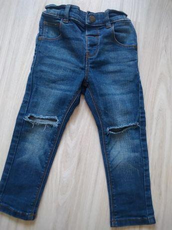 Spodnie jeansowe Next 92