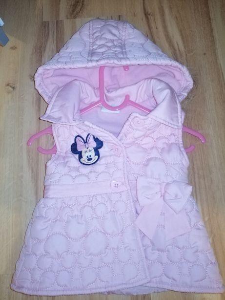 Kamizelka Myszka Minnie Disney Kamizelka dziecięca dla dziewczynki