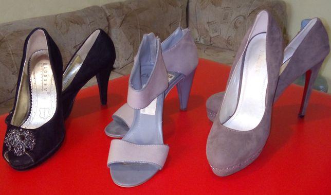 Туфлі жіночі 3 пари за 100 гр