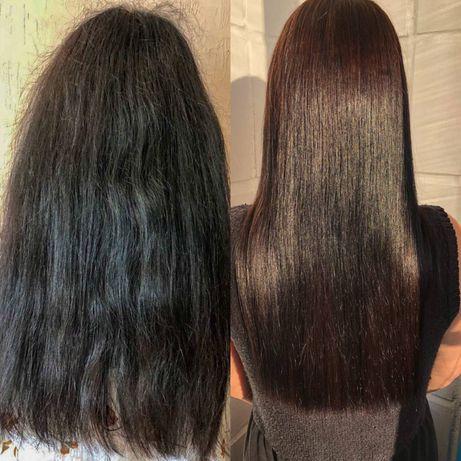 Кератиновое выпрямление волос ! Голосеевский район.
