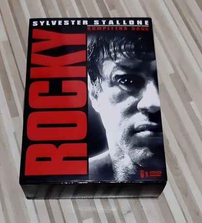 Plyty DVD Kompletna saga - Rocky - Sylvester Stallone