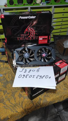 Гарантія! Powercolor Radeon RX 580 Red Dragon 4GB ( rx580 )