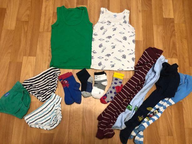 Пакет колготки носки майки трусы 98см 3 года