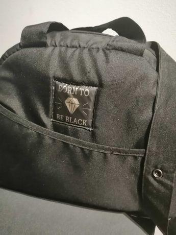 Torba na wózek black wings stroller & mommy bag