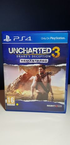Uncharted Drake's Deception 3 REMASTERED na PS4