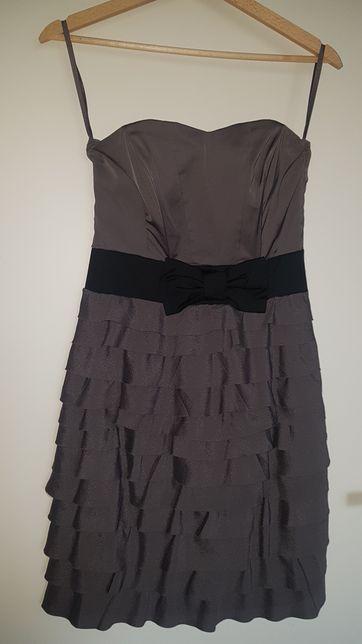 Sukienka 34 hm szara