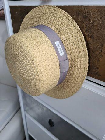 LE kapelusz 52/54 słomkowy newbie 98,104,110,116,122,128